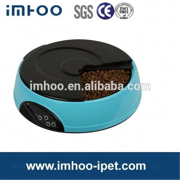 4 Meal LCD Automatic Pet Feeder for our cute dogs & cats fishing cage feeder