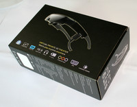 Virtual Reality 3d video glasses eyewear display with 3d feature