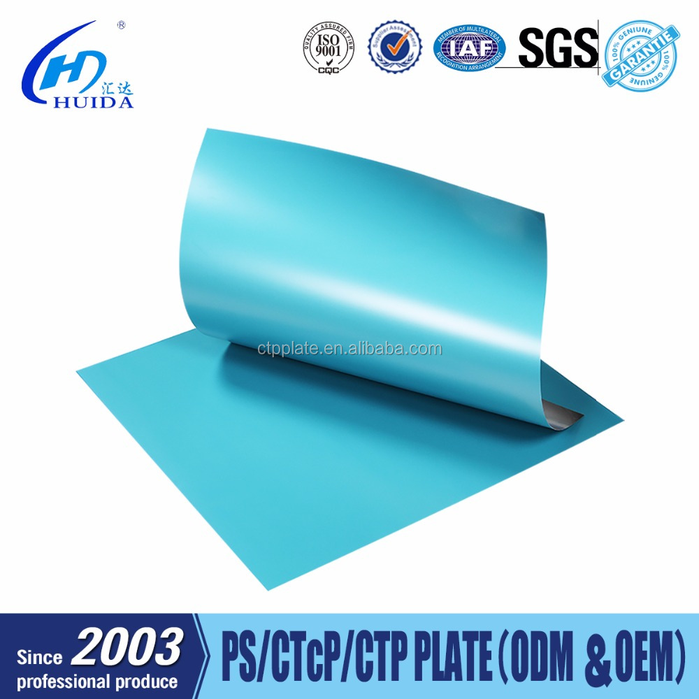 Reasonable Price Various Sizes Thickness 0.15mm-0.30mm Offet CTcP Plate