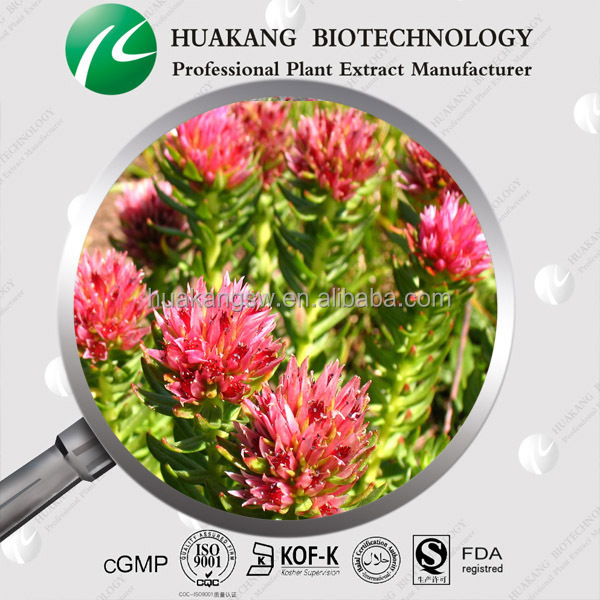 Brown-red Powder 3% Salidroside Rhodiola Rosea Extract