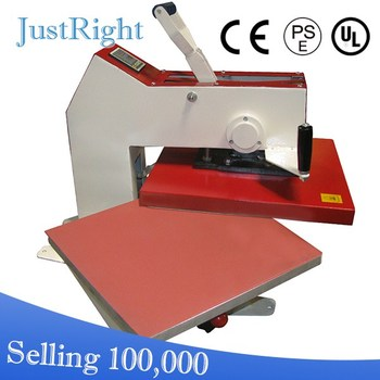 2014 tshirt heat transfer machine press