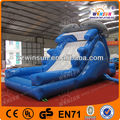 open air inflatable dolphin animal swimming pool for back yard
