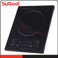 Germany suppliers SuGoal Touch Crystal induction and halogen cooker price