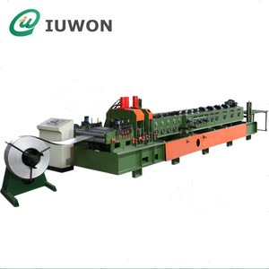 Iuwon Steel C Z Roof Purlin Roll Forming Machine