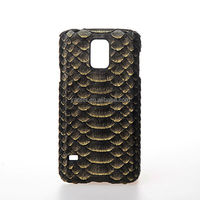 Custom Genuine Python Snakeksin Leather Case for Samsung Galaxy s5