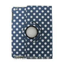 Polka dot case for ipad mini, leather ipad mini2 case