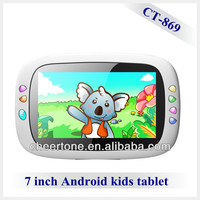 7'' color screen android 4.1 kid's tablet pc