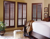 sun shade adjustable electric motors basswood louvers window plantation shutters for home