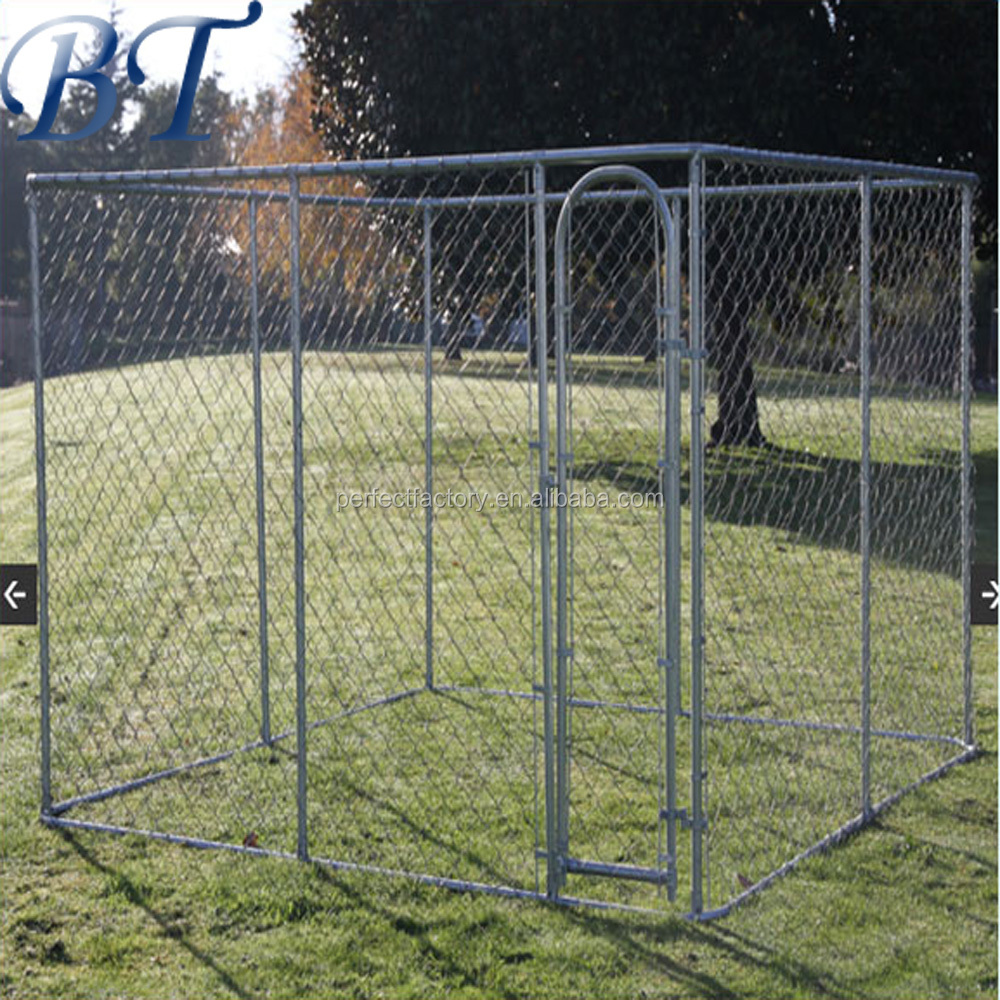 Best Selling Products China Supplier Galvanized Dog Kennel/Chain link Dog Cage