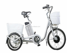 three wheel cheap 250W cargo electric tricycle for sale