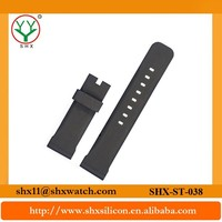 Excellent quality and up-to-date styling thin rubber sports watch strap