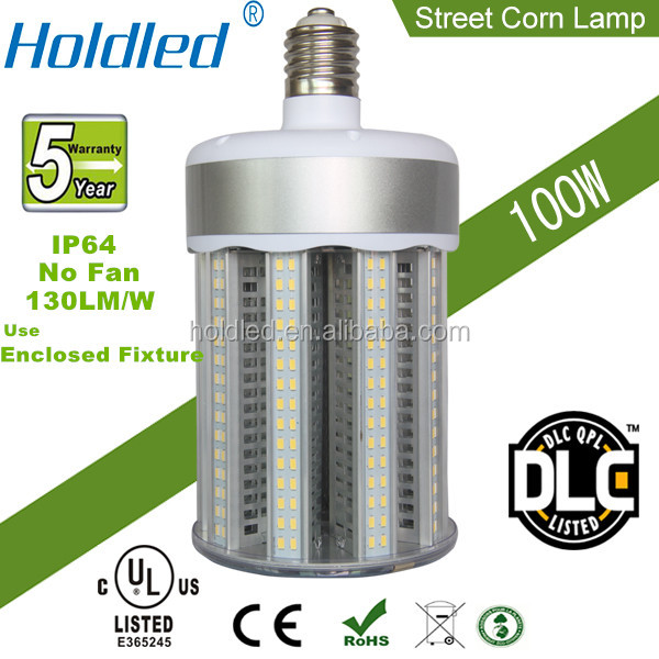 UL TUV 100W Post top LED Corn light replacement for 300 watt metal halide lamp