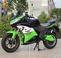 China super power 90km/h automatic racing electric motorcycle for adult