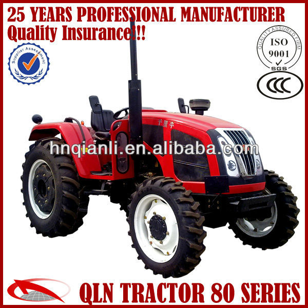 85hp 4wd farm tractors with famous engine YTO