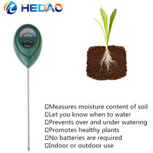No battery need soil moisture sensor meter for Garden, Farm, Lawn Plants Indoor & Outdoor