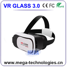 2016 hot selling VR Box 3.0 3d Vr Case 3d Glasses Virtual Reality Video Glasses
