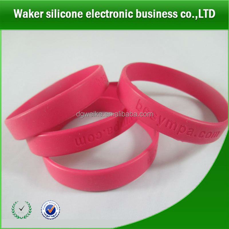 bracelet superman cheap custom silicone wristband promotion