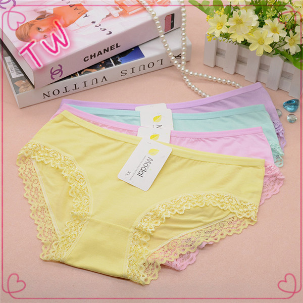 Online shopping free samples comfortable lady sexy young girls wearing nylon cotton panties free size mixed lots wholesale