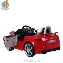 WDJE1198 Toy Cars For Toddlers To Drive / Childrens Electric Kids Ride On Remote Control Je...