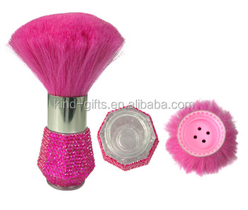 large wholesale hot selling bling glitter rhinestone pink series style modern private label makeup brush
