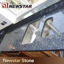 Newstar blue pearl granite laminate kitchen island countertop
