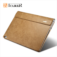 ICARER Shenzhou Real Leather Detachable Folio Case for Microsoft Surface Book