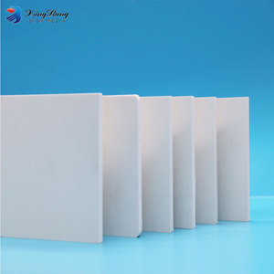ISO SGS approved 4x8 white 15mm pvc foam insulation board with high density