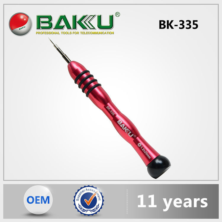 Baku New Arrival Top Quality Low Price Original Design Rubber-Plastic Handle Floral Screwdriver