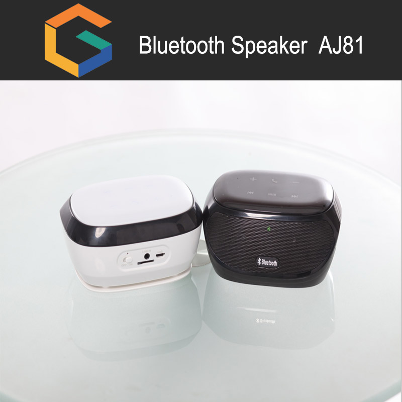 AJ 81 Portable music mini wireless bluetooth speaker with fm am radio