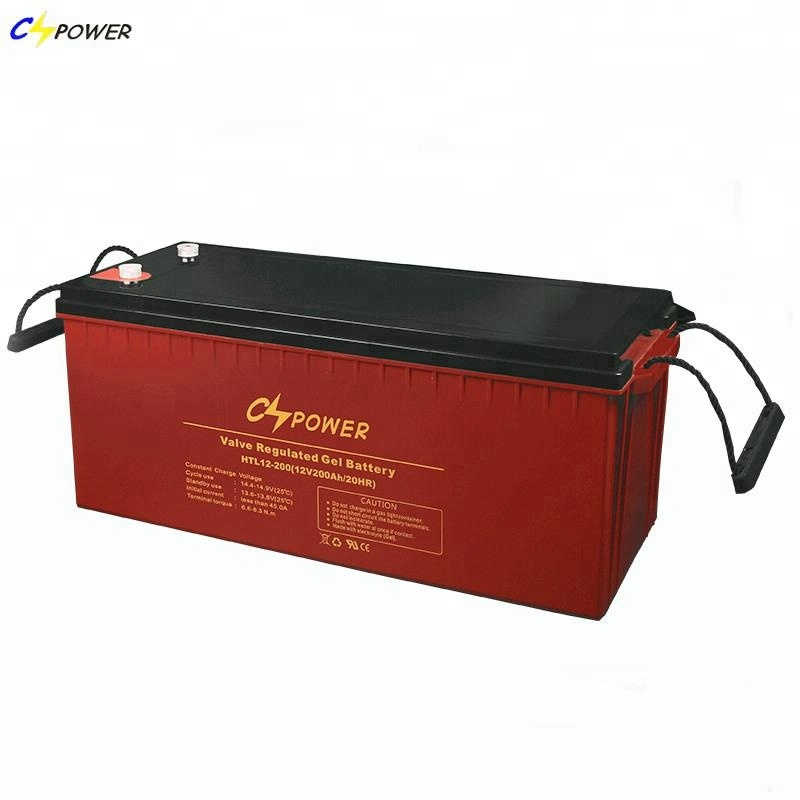 High Temperature Storage Solar Gel Battery 12v 200ah
