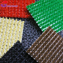 12mm thick PE Plastic artificial turf grass mat