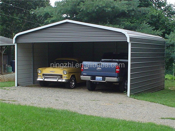 hoge sterkte metalen garage staal carport garage en aluminium carport panelen garages luifels. Black Bedroom Furniture Sets. Home Design Ideas