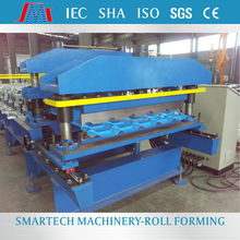 YLA220 full automatic continuous color cold steel tile roll forming machine cutting machine