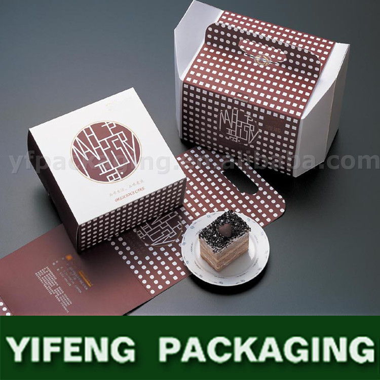 zip top printed snack food package for cake