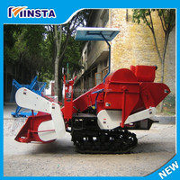 Direct factory supply best selling 4L-1.0 rice combine harvester kubota
