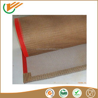VC.HOME 4*4 mm brown high temperature teflon conveyor mesh belt of drying machine