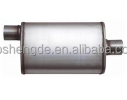 Sintaless steel 409 performance exhaust muffler