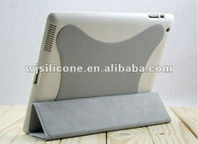 New Arrival high quality purple leather case with wireless keyboard for ipad 2 3