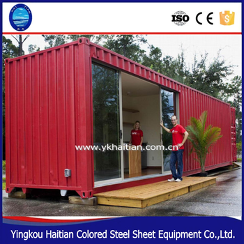 Mobile house easy installed rapid wall construction building material house