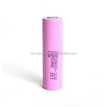 High Drain 15Amp Samsung Vape Pen 18650 3000mah Rechargeable 30Q Battery