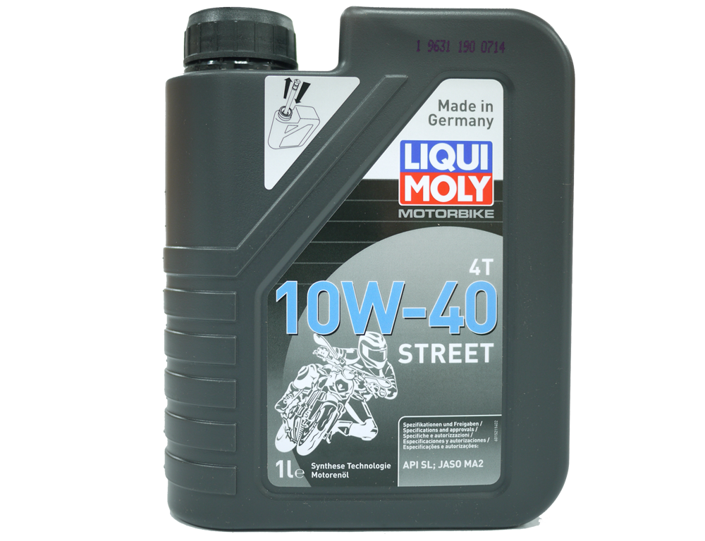 Liqui Moly Motorbike 4T 10W-40 Street 1 L Semi Oil Engine Oil