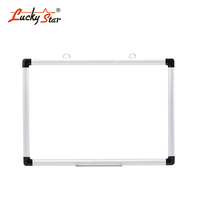 Double Sided Silver Aluminium Frame Magnetic