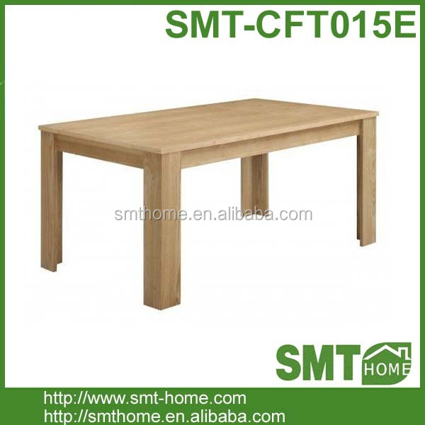 cheapest melamine MDF dinner table with chair