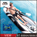 inflatable portable PVC recreational Kayak with clear window VIEW kayak