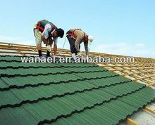Low price Colorful Stone Coated Metal Roofing Tile
