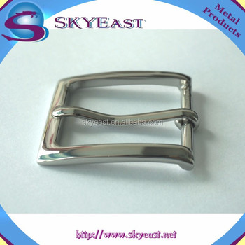 High Quality Shiny and Polished Brass Pin Buckles for Belts