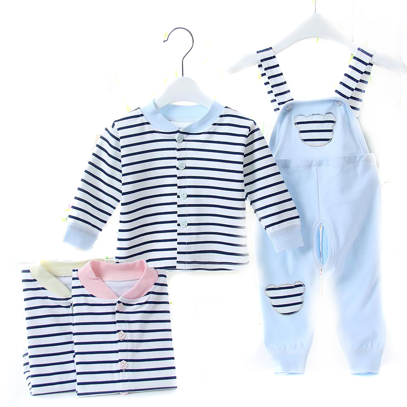 Fiona Newborn Autumn Winter 2015 New Brand Fashion Unisex baby Boys Girls Clothes Infant Suits Long Sleeve Gift Clothing Set