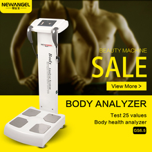 Professional human body health care auto analyzer price with printer