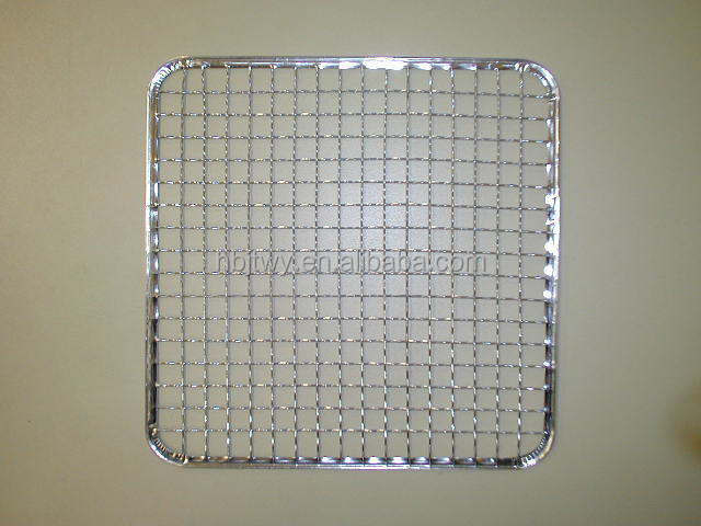 Anping supply stainless steel 304 barbecue grill wire netting