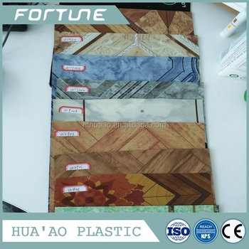 Various Color Home Use PVC Flooring in Roll